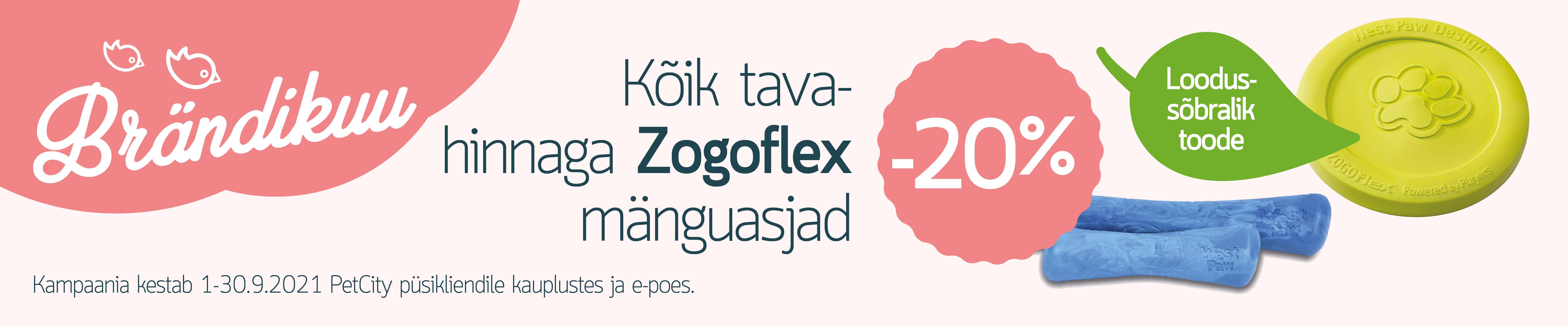 ZOGOFLEX mänguasjad -20%