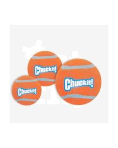 Chuckit tenChuckit tennisepallid koertele oranzh/sinine S, kompl. 2 tk