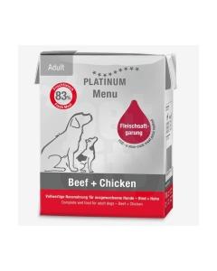 Platinum koera konserv Menu veis/kana 375 g