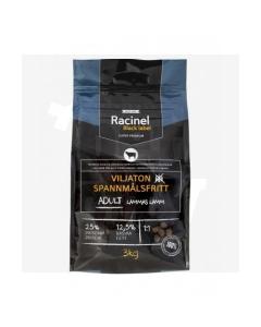 Racinel Black Label kuivtoit täiskasvanud koertele lambaga 3 kg