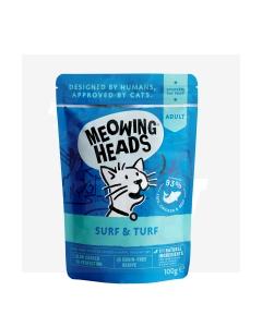 Meowing Heads  kassi einekotike Supurrr surf & turf 100 g