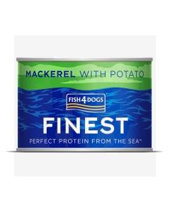 Fish4Dogs Finest Mackerel konserv koertele makrelliga 185 g