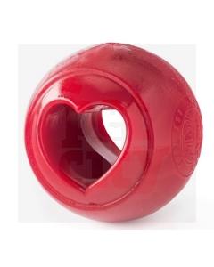 PlanetDog Nook süda 6,3 cm, punane