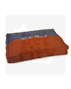 Beeztees Design By Lotte madrats koertele Tyda oranz-sinine