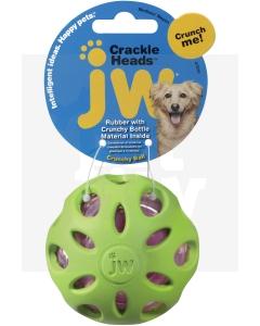 JW Crackle Heads krõbisev pall koertele M