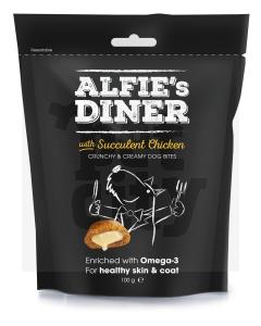 Mark+ Chappell Alfies Dinner maiustused koertele, kanaga 100 g