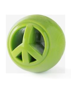 PlanetDog Nook rahumärk pall 6,3 cm, roheline