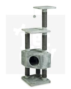 Beeztees Figado ronimispuu 40 X 40 X 135 cm, hall