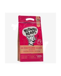 Meowing Heads So- Fish- Ticated  kuivtoit kassidele 1,5kg