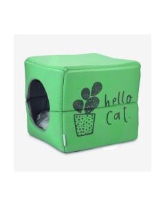 Beeztees Boxi kassipesa 37 X 33 X 33 cm, roheline