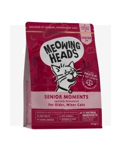 Meowing Heads kassi täissööt senior moments 450g