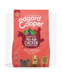 Edgard Cooper Free-Run toit senior koer, kana ja lõhe 700 g