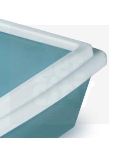 Stefanplast CatLitter Tray 1 kassiliivakasti ääris, valge