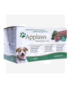 Applaws koerapasteet kana/lammas/lõhe, 5 X 150 g