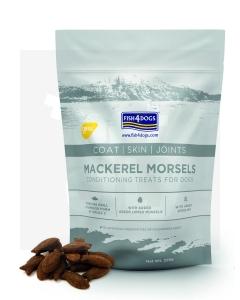 Fish4Dogs Mackerel Morsels Coat Skin Joint maiused 225 g