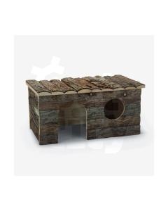 Beeztees närilise maja forest log-cabin royal 40x23x20cm