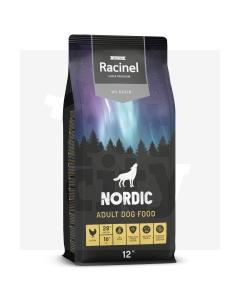 Racinel Black Label kuivtoit täiskasvanud koertele kanaga 12 kg